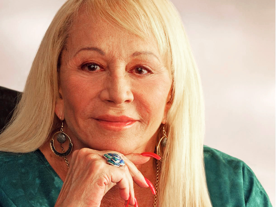 Psychic and author Sylvia Browne, seen in this undated photo, said she believed in reincarnation and could help people communicate with their dead loved ones. (AP)