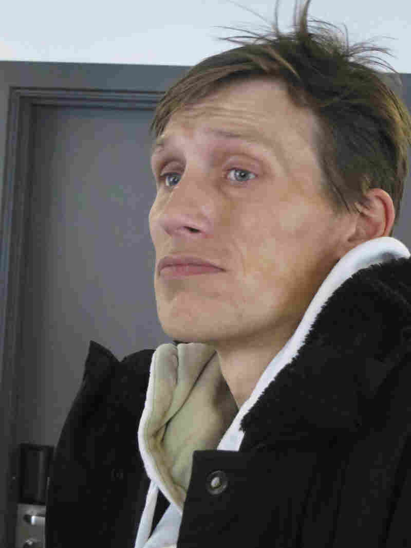 """Drug addict Martin Jensen used to hide in elevators and stairwells when he smoked heroin. Now, he's on methadone — and uses a Copenhagen """"drug consumption room,"""" where medical personnel watch over people using illegal drugs."""