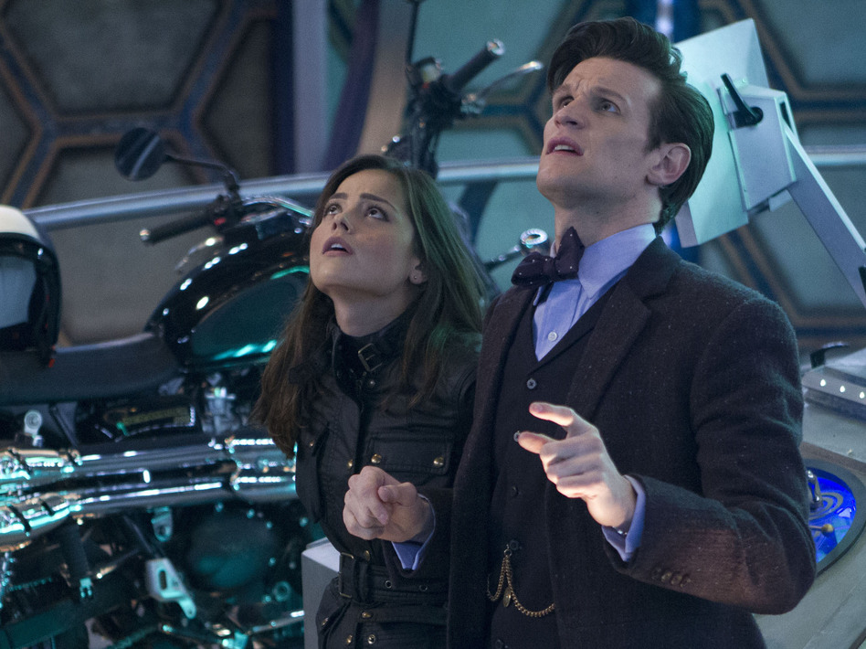 Jenna Coleman plays Clara, companion to Eleventh Doctor Matt Smith. The relationship between the Doctor and his companions is at the core of <em>Doctor Who</em>'s long-lived appeal.
