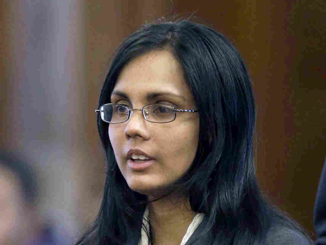 Annie Dookhan, pictured earlier this year, pleaded guilty Friday to falsifying drugs tests at a Massachusetts state crime lab.