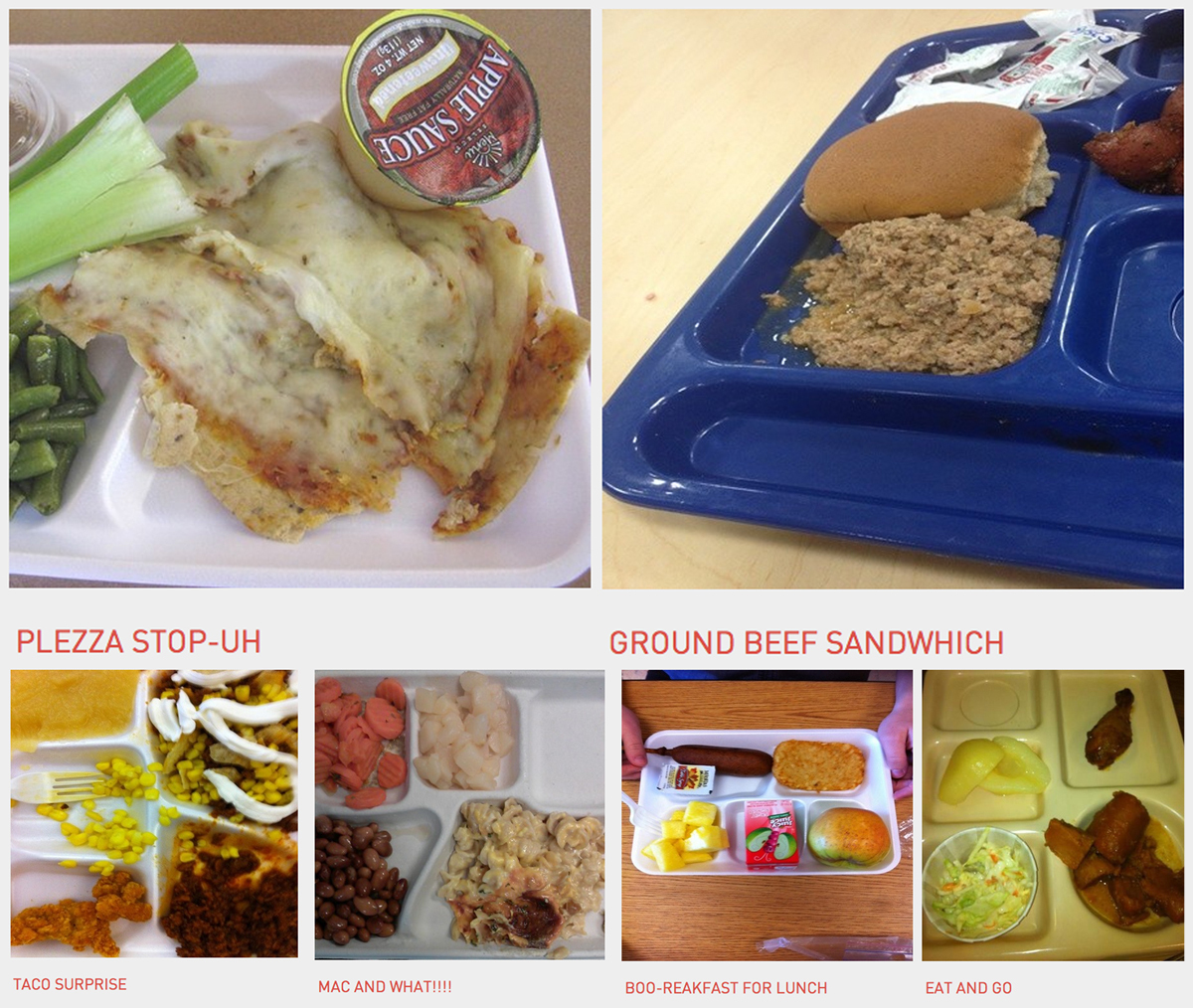 This Is What America's School Lunches Really Look Like