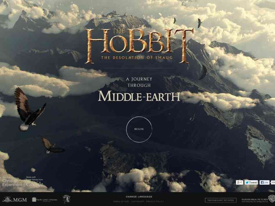 Click here to tour Middle-Earth.