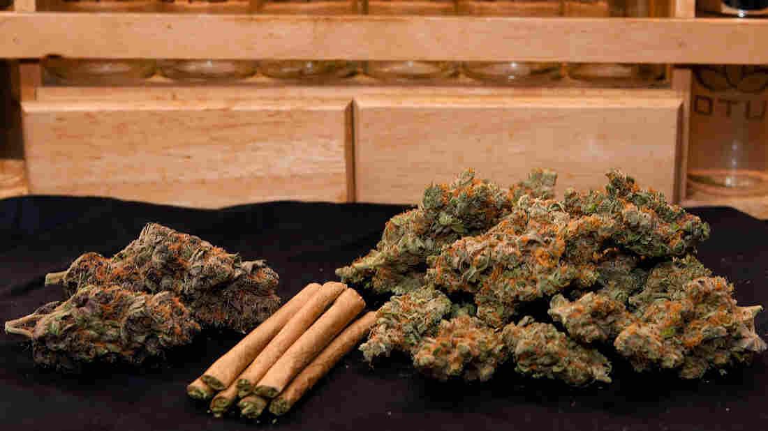 Marijuana at a Denver dispensary.
