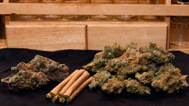 Marijuana at a Denver dispensary. (AP)