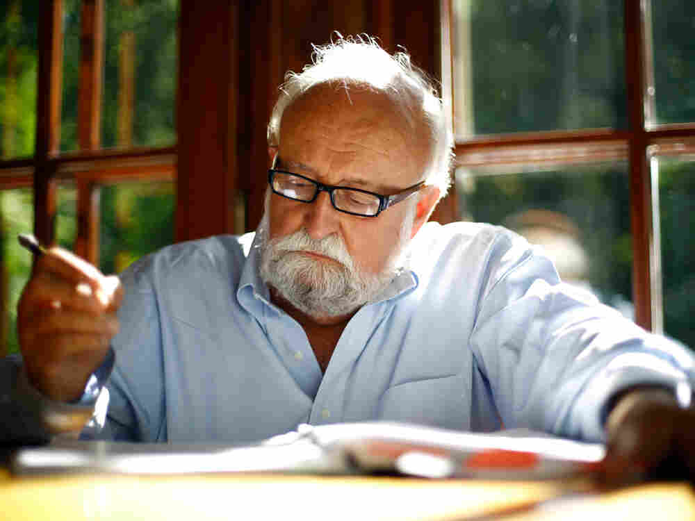 In Penderecki's music there is a struggle between melody and dissonance.