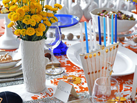 Jewish tradition and Thanksgiving have even the importance of table-setting in common. The code of Jewish law, the schulchan oruch, means