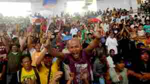 LISTEN: A Joyous Moment In Typhoon-Ravaged Tacloban