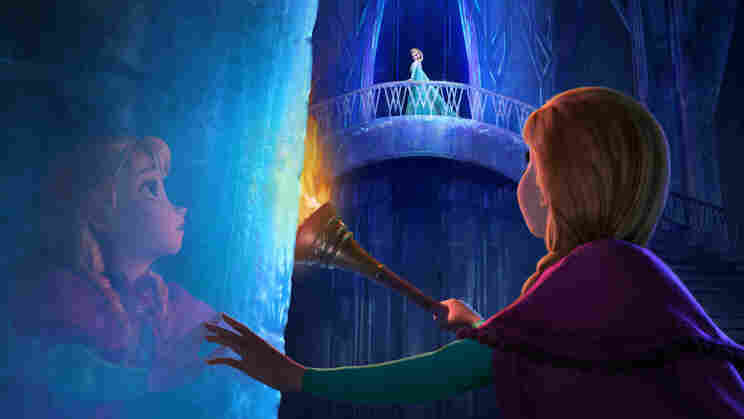 The new Disney film Frozen is the tale of sisters Anna and Elsa, whose relationship is captured in music by songwriters Robert Lopez and Kristen Anderson-Lopez.