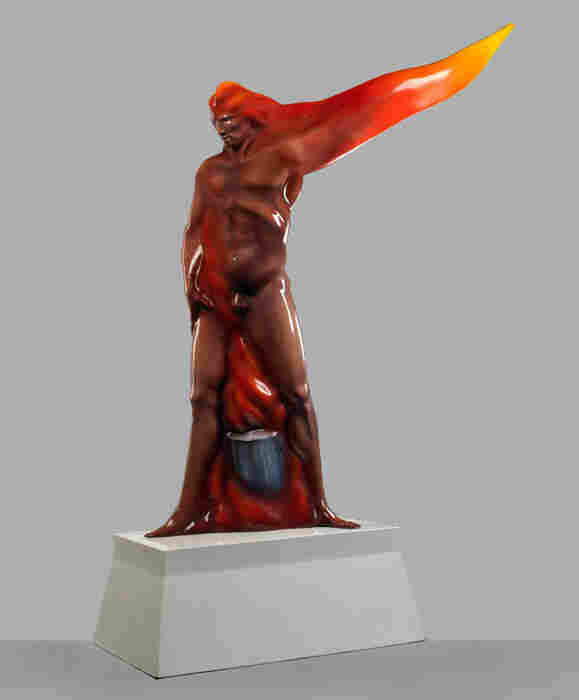 Man on Fire, Luis Jiménez