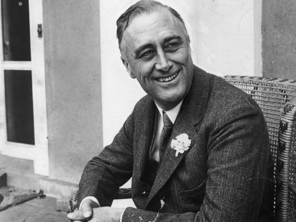 Franklin D. Roosevelt smiled upon hearing that he was leading the 1928 contest for governor of New York, more than six years after he contracted polio.