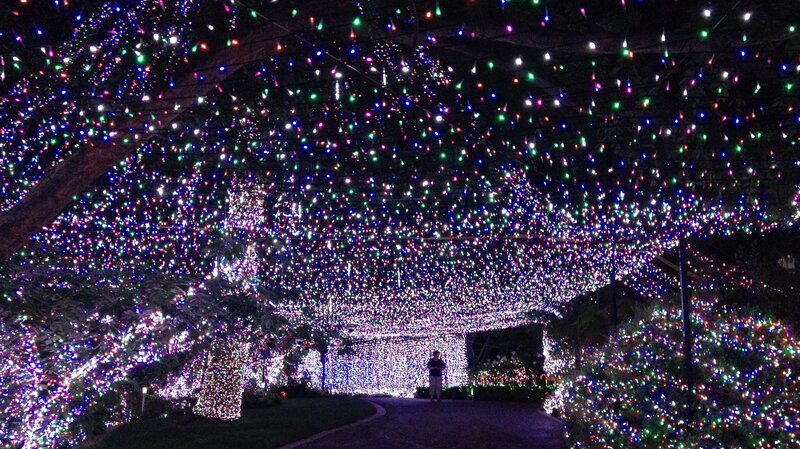500000 lights familys christmas display sets world record