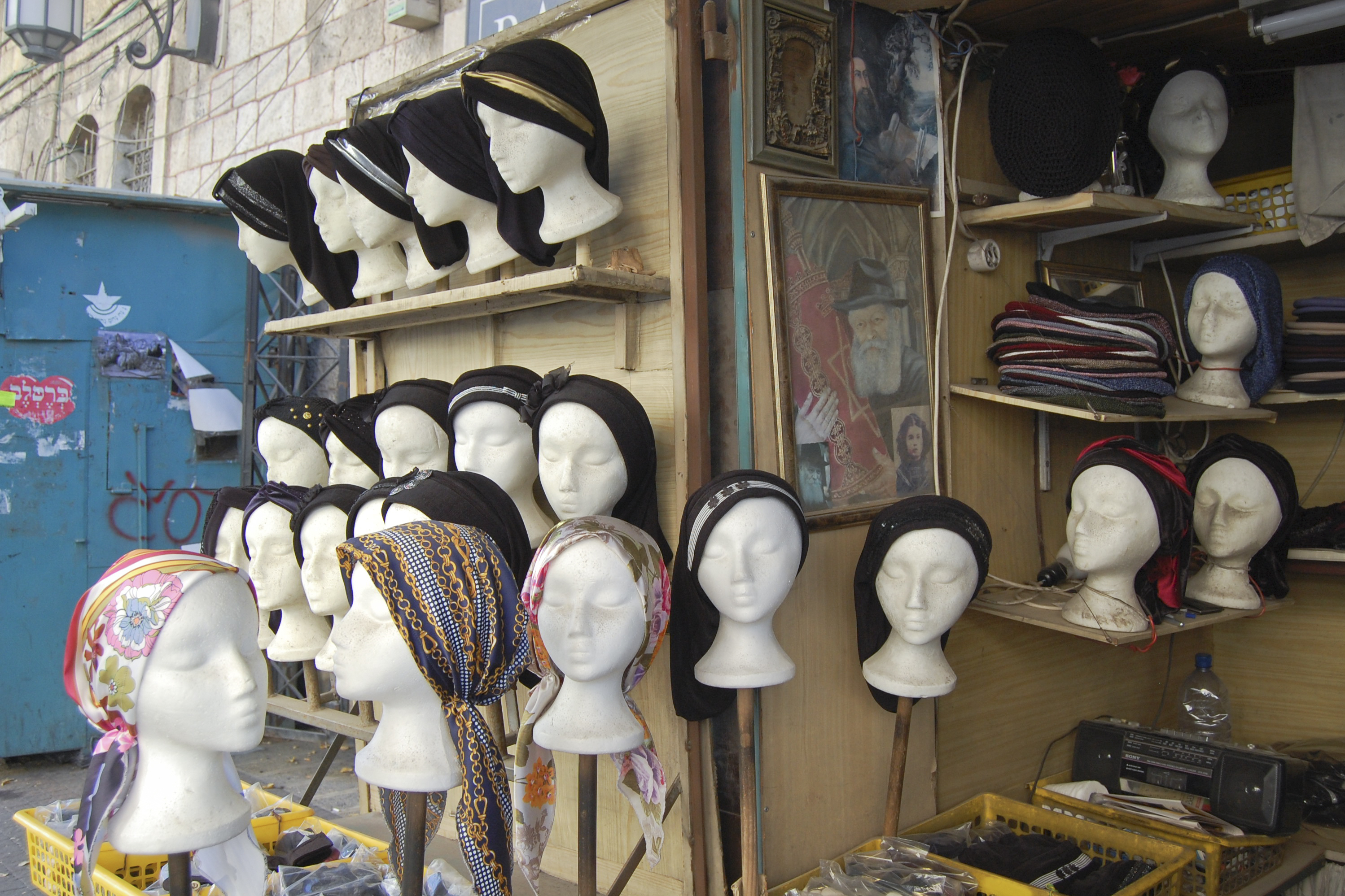 What It Costs To Cover Your Noggin In Jerusalem