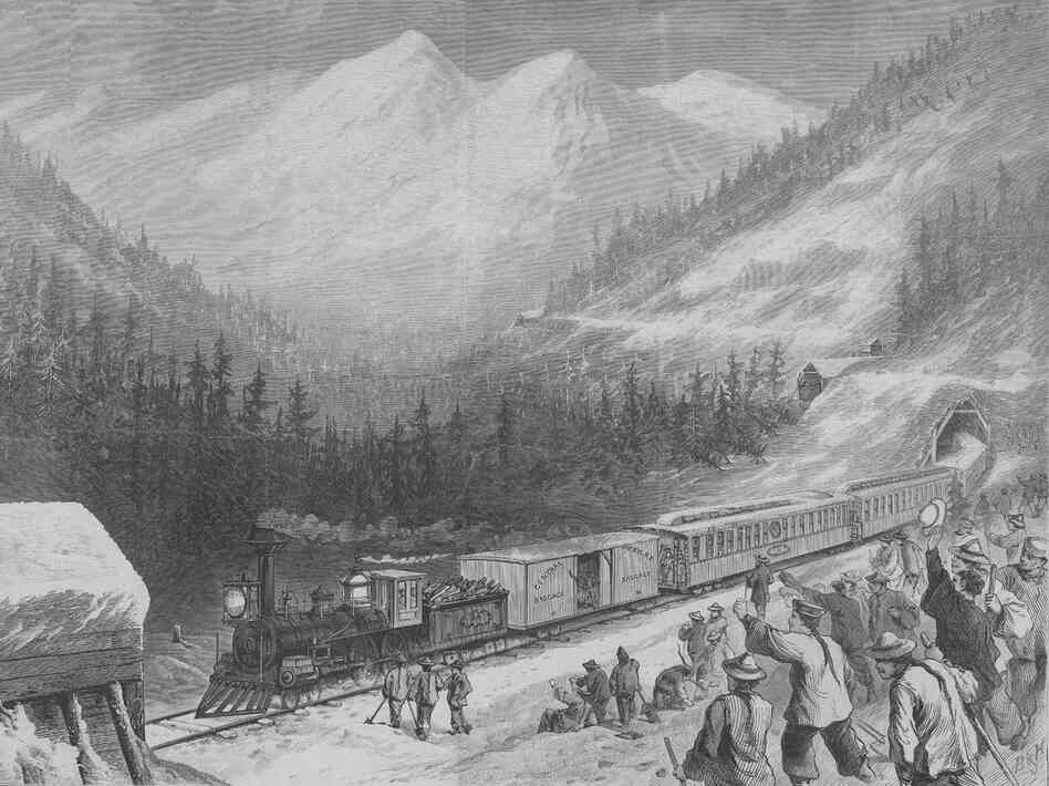 "Nine out of 10 workers on the transcontinental railroad were Chinese. These indentured laborers, derogatorily called ""coolies,"" became a prime target for criticism in the mid-19th century."