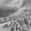 """Nine out of 10 workers on the transcontinental railroad were Chinese. These indentured laborers, derogatorily called """"coolies,"""" became a prime target for criticism in the mid-19th century."""