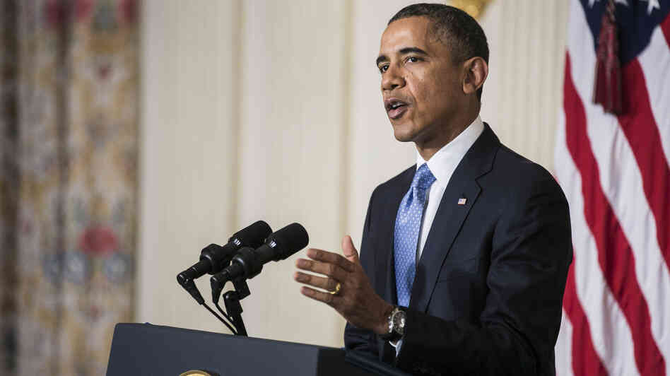 President Obama, speaking on Saturday night, said the interim deal on Iran's nuclear program is an important first step. The Obama administration is currently working on several major initiatives in the Middle East.