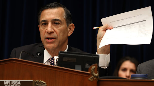 Rep. Darrell Issa, a California Republican and chairman of the House Oversight and Government Reform Committee, planned to hold at least four field hearings on the