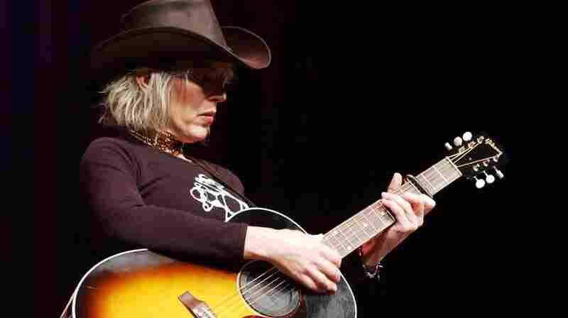 Lucinda Williams performs live on Mountain Stage in 2001.