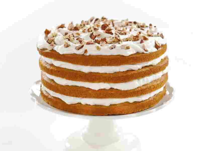 Maple-Pumpkin stack cake