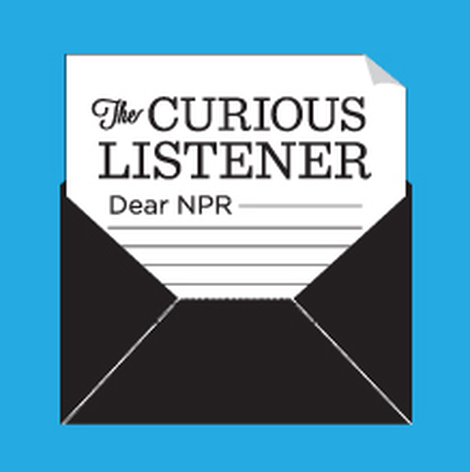 The Curious Listener logo.