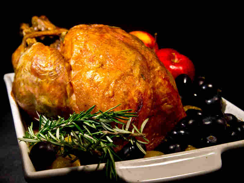 Jack Bishop recommends letting your turkey sit for at least 30 minutes before you start carving.