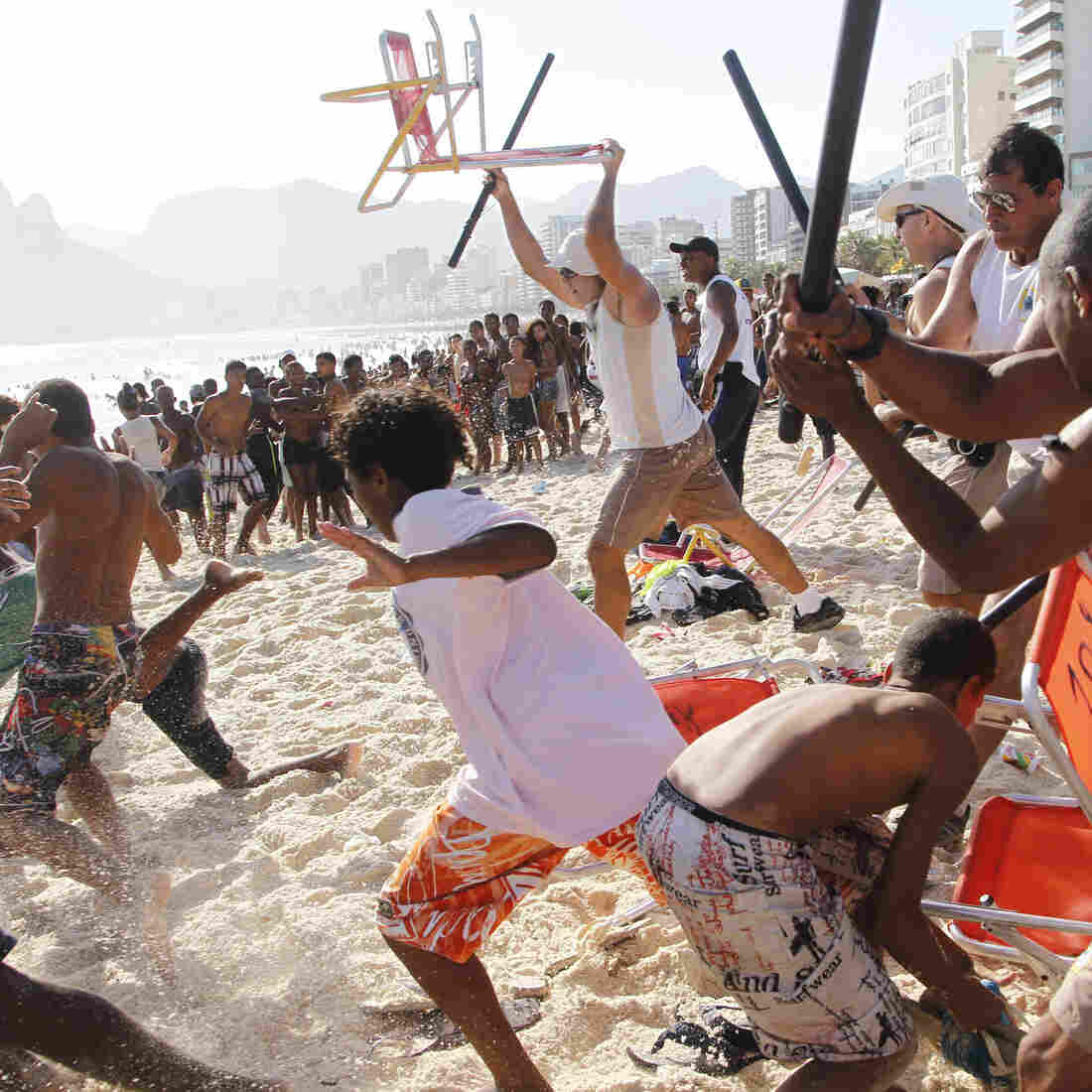 Swarming Thieves Wreak Havoc On Famed Rio Beaches