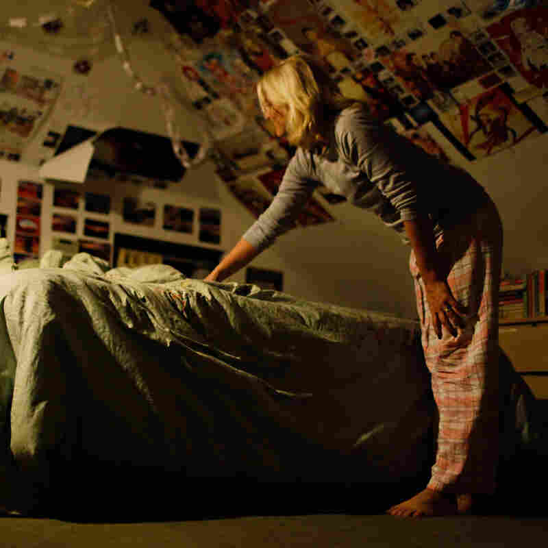 *PROMO IMAGE *Cristina Sevin attempts to wake up her 16-year-old daughter Lily. It usually takes three rounds of this before she is up and out of bed.