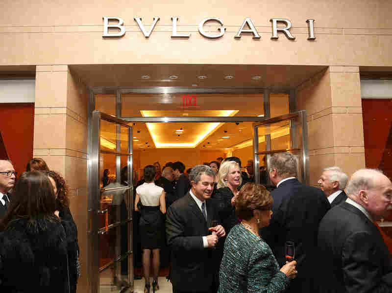 South Coast Plaza's Bulgari hosted a benefit in Costa Mesa, Calif. Offering amenities like a meditation room, this mall is among the most successful high-end shopping centers in the country.
