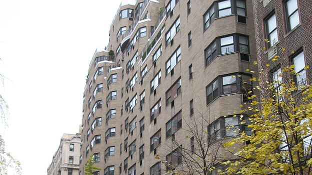 The building at 120 East 81st Street is among those converting from an oil- to natural-gas-burning furnace. (NPR)
