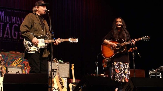 Buddy & Julie Miller perform live on Mountain Stage in 2001. (Courtesy of the artist)