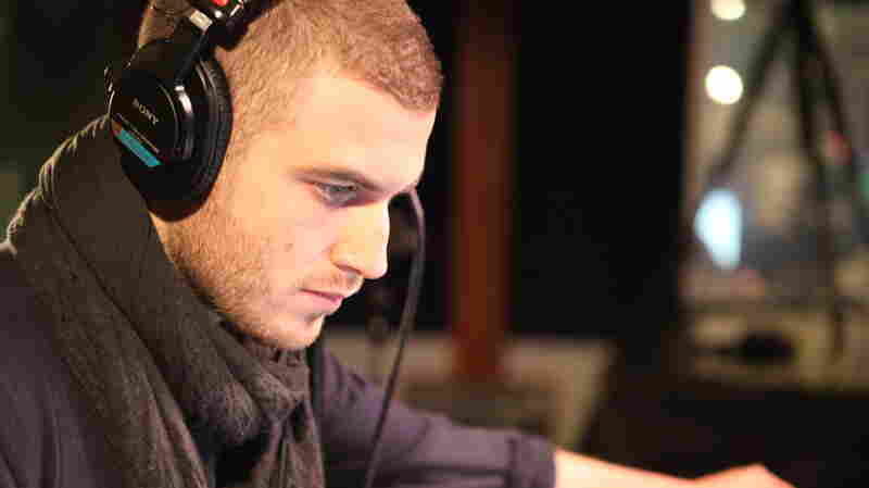 Nicolas Jaar of the duo Darkside performs live on KCRW.