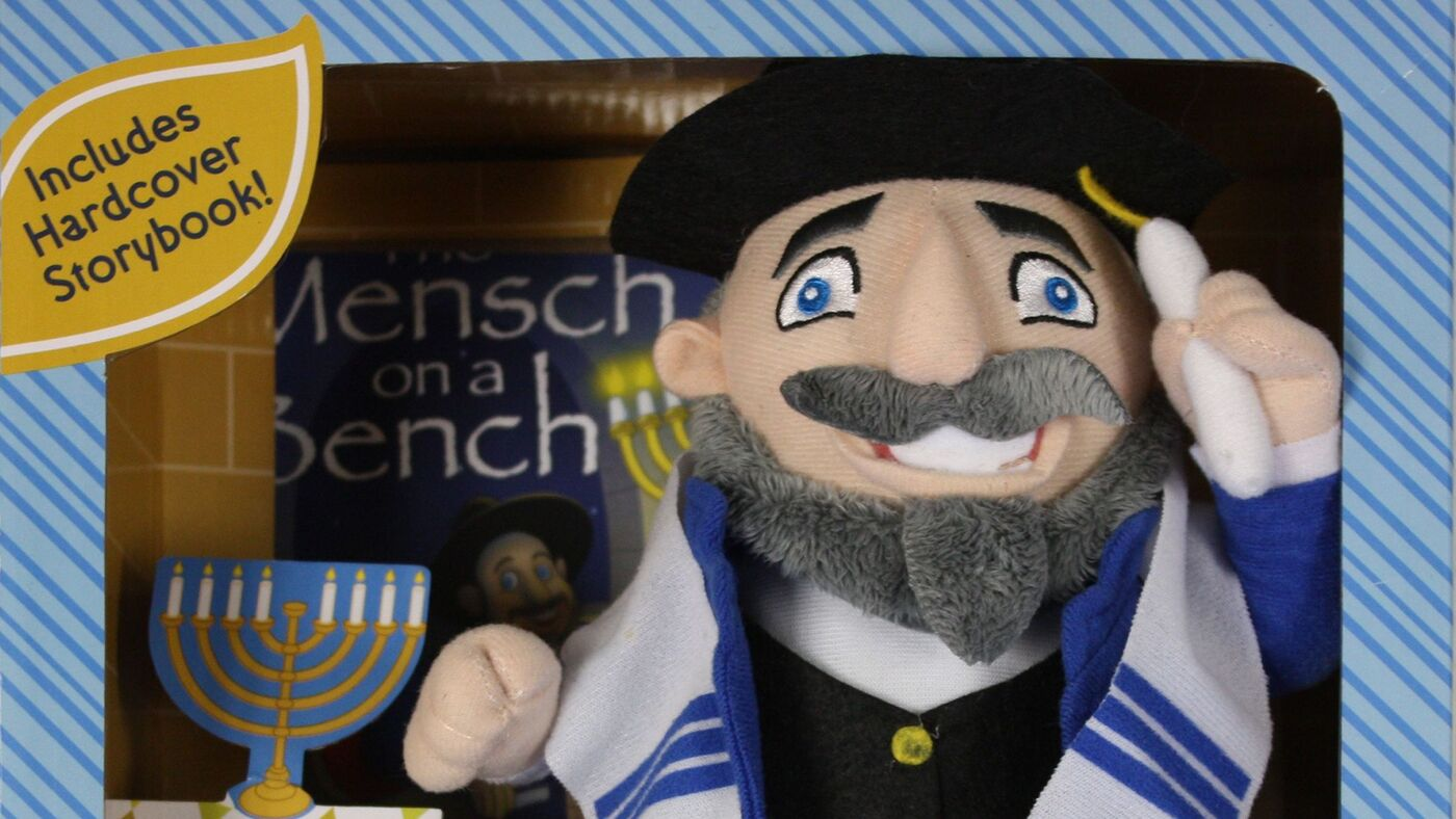 Meet Mensch On A Bench Jewish Counterpart To Elf On The Shelf Npr