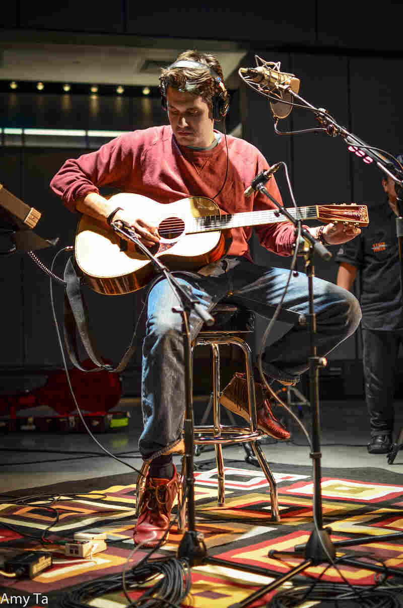 """You may have to go someplace like Montana to 'get' this record."" John Mayer tells NPR's Ari Shapiro about his new album, Paradise Valley."