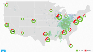 The Misery Of Holiday Travel, In One Real-Time Map