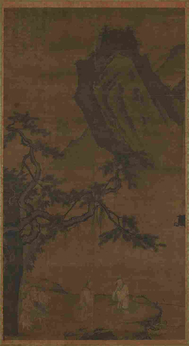 Li Tang painted Summoning The Sage At Wei River on silk during the Ming dynasty (1368-1644).