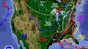 Big Travel Day Could Be A Big Mess Due To Weather