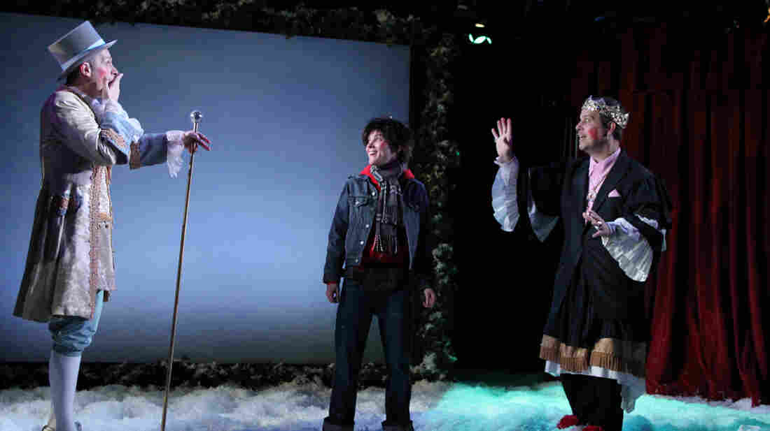 Seven In One Blow, which plays at New York City's Axis Theater, is one of many recurring holiday-season productions across the U.S. that bring a distinctly local flavor and history to bear.