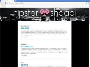 Hipster Shaadi: Marry a hipster already.