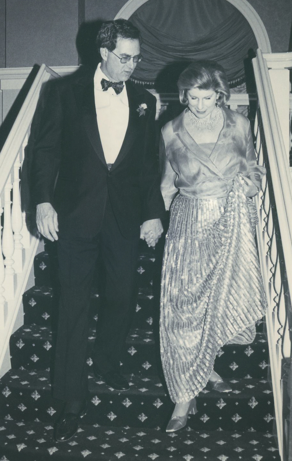 Nina Totenberg and David Reines at their wedding in 2000.