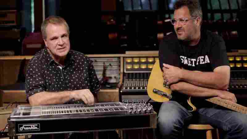 Vince Gill & Paul Franklin On World Cafe