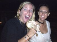 Heather Boylan and Jen McKay in Bali.
