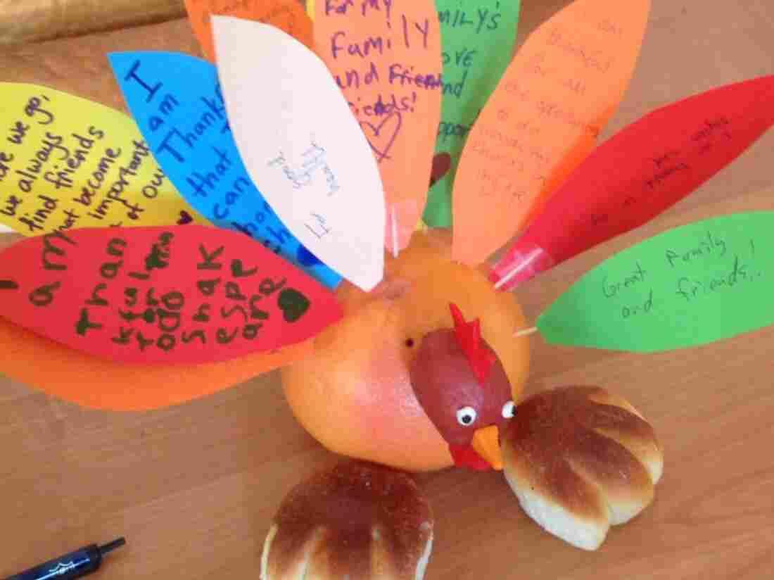 Turkey of Thanksgiving in Kazakhstan.