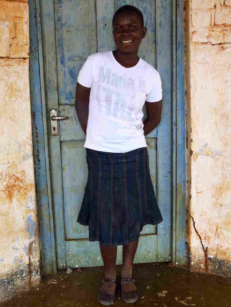 Arinafe Makwiti, 13, says her parents forced her to drop out of school and get married to an older man last year to help with the family finances. Makwiti has divorced her husband, but now has a 9-month-old daughter.