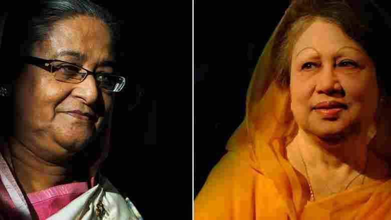 Sheikh Hasina and Khaleda Zia