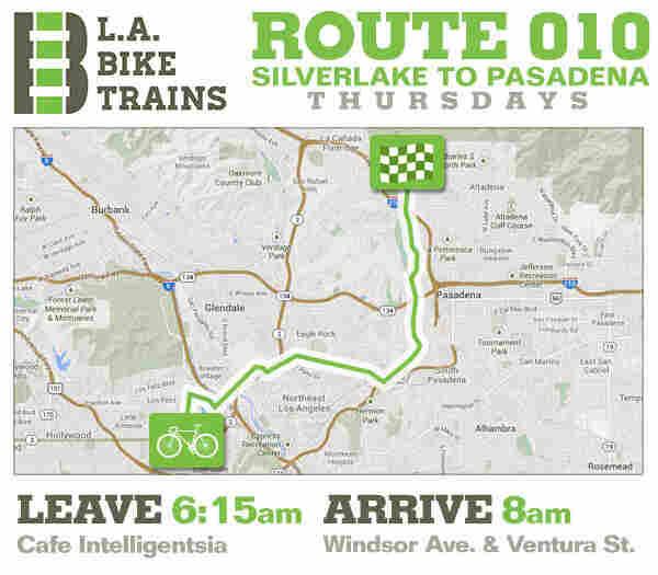 L.A. Bike Trains Route 010.