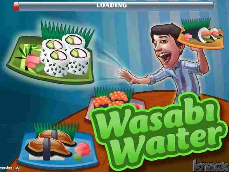 """Knack.it developed the video game """"Wasabi Waiter"""" to show a job applicant's problem-solving skills."""