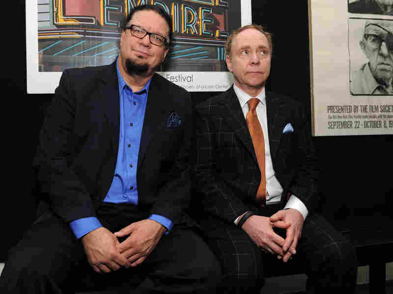 Penn (left) and Teller documented a different kind of magic in the film, which Penn narrated and Teller directed.
