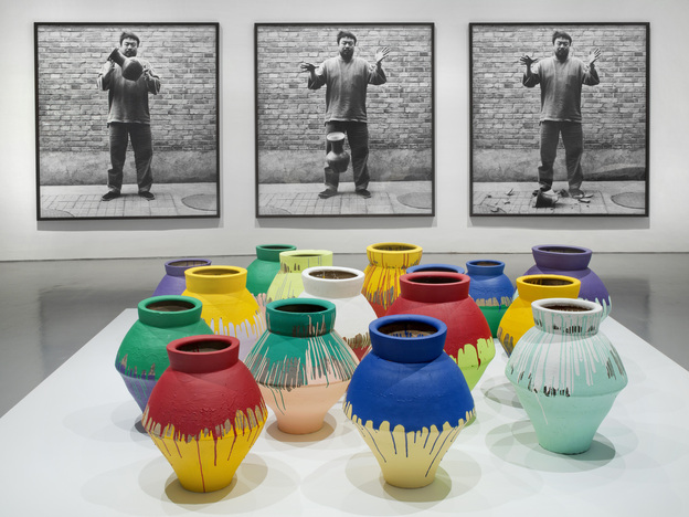 A retrospective exhibit featuring the work of Chinese artist Ai Weiwei is first up at the PAMM, including his installation <em>According to What?</em> shown at the Hirshorn Museum and Sculpture Garden in Washington, D.C., in 2012.