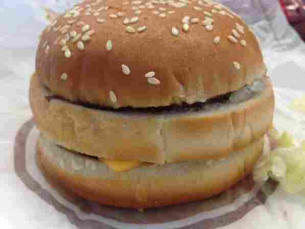 "Burger King has copied McDonald's groundbreaking proprietary technology known as ""stacking food on food."""