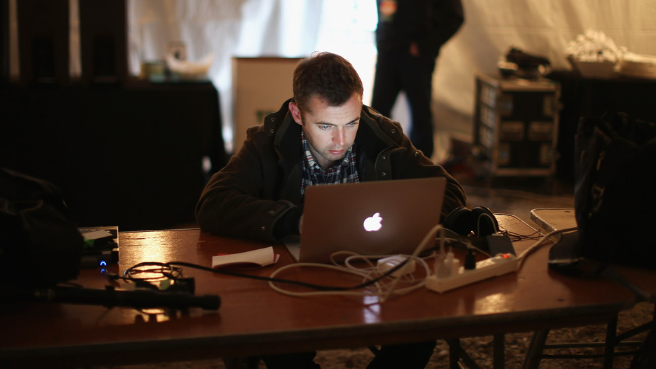 The late journalist Michael Hastings reported for BuzzFeed from the Obama campaign trail in 2012, helping the website beef up its coverage of politics and news.
