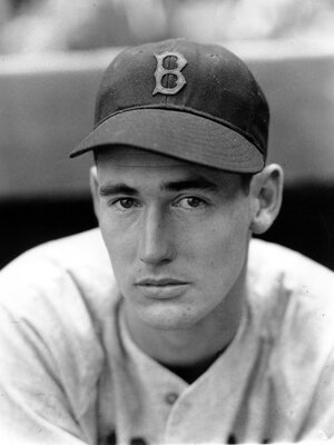 Ted Williams, pictured here in 1941, was deeply marked by his parents' absence while he and his brother were growing up.